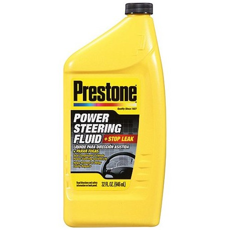 Prestone Power Steering Fluid + Stop Leak 946ml