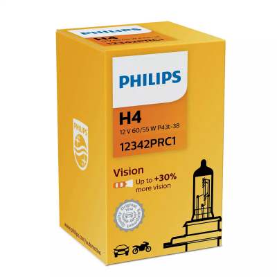 Philips Vision żarówka H4